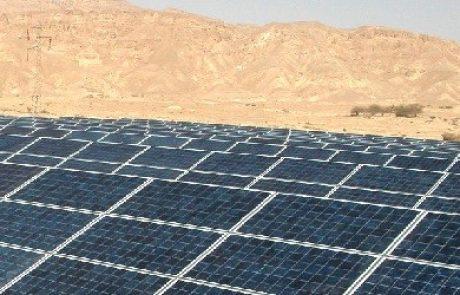 השדה הסולארי בקטורה הוא הראשון בישראל לקבל רישיון קבוע לייצור חשמל