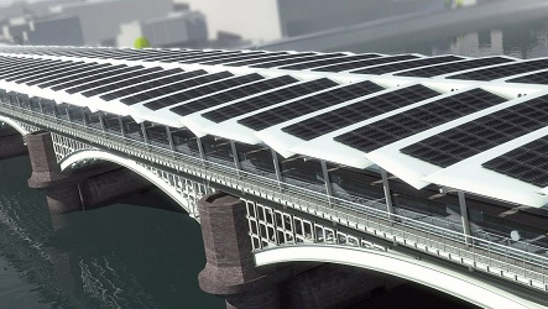 גשר בלאקפרייארס בלונדון יהפוך לגשר הסולארי הגדול בעולם