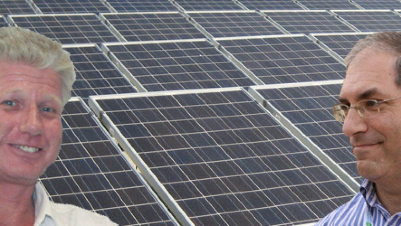 """חזי קוגלר וג'ון כהן – מנכ""""ל ערבה פאוור: אנרגיה מתחדשת בישראל – אלפי מגה-וואט או רק מילים?"""