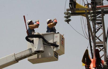 עובדי חברת החשמל החריפו את העיצומים במחוזות דן, ירושלים ובאר שבע