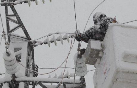 חברת החשמל נערכת למזג האוויר הסוער: תוגברו צוותי השטח