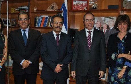 שר האנרגיה: איטליה מעוניינת לשמש שער כניסה של הגז הטבעי הישראלי לאירופה