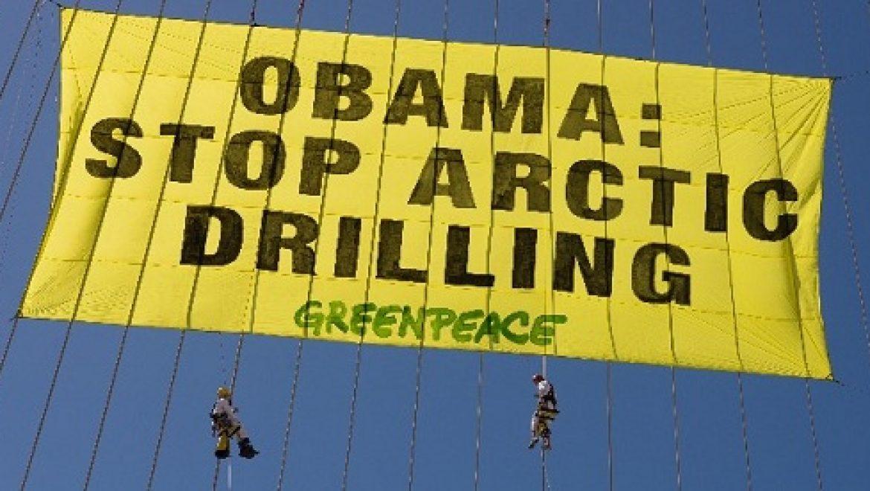 """גרינפיס יוצא נגד מדיניות ממשל אובמה בנוגע לקוטב: """"נגועה בצביעות"""""""