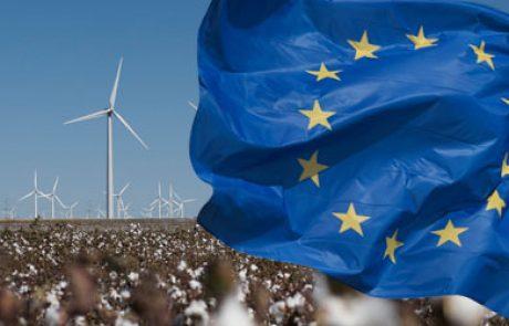 ייצור חשמל באמצעות טורבינות רוח באירופה ישולש עד לשנת 2020