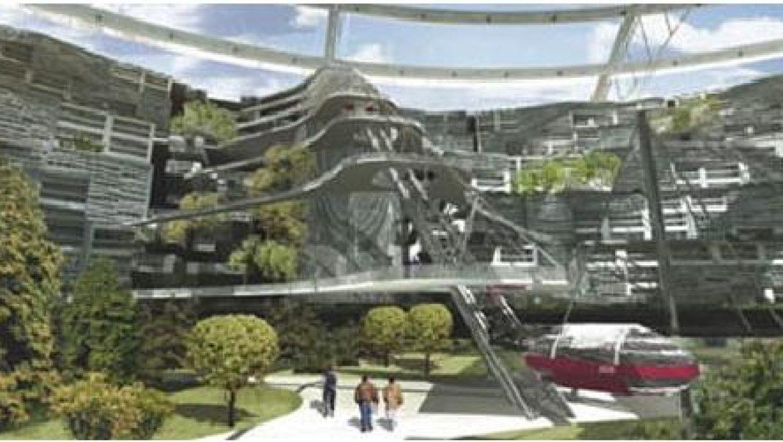 עיר אקולוגית מבוססת אנרגיה סולארית תבנה במזרח סיביר