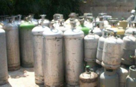 פקחי משרד התשתיות הלאומיות תפסו 7 טון גז בשתי תחנות פיראטיות בלב שכונות בתל אביב