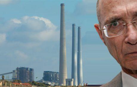 """שר התשתיות הלאומיות: """"תחנות הכוח בחדרה יוסבו לעבודה בגז טבעי במקום פחם"""""""