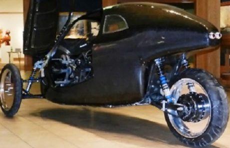 """פיתוח חדש: """"רכב אנושי חשמלי"""""""