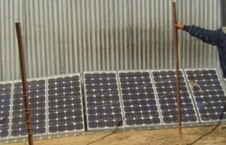 פרוייקט להקמת מערכות סולאריות בפזורה הבדואית בנגב יצא לדרך