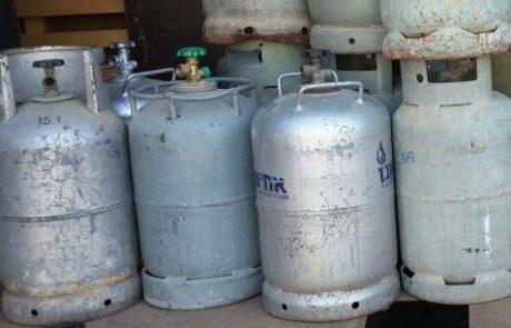 משטרת חיפה ומשרד האנרגיה תפסו מעל 150 מיכלי גז פיראטי