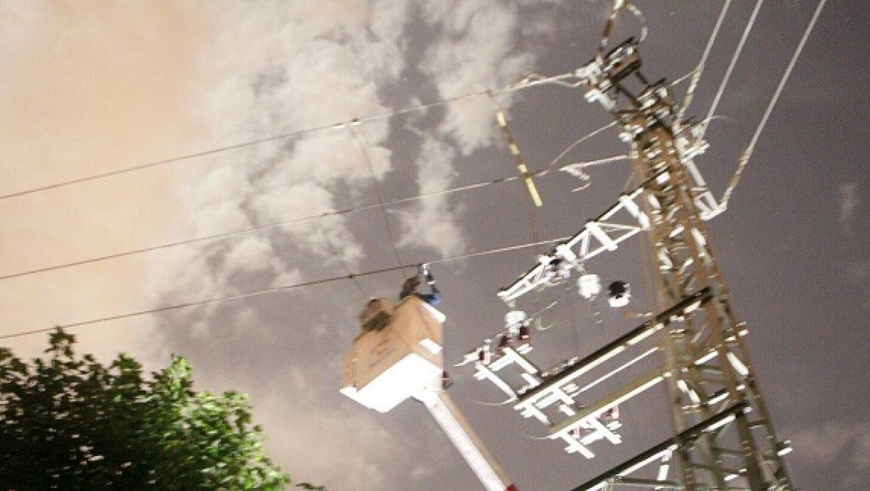 חברת החשמל נערכת לקראת מזג האוויר הסוער