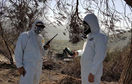 גל השריפות: המשרד להגנת הסביבה פתח חדר מצב לטיפול בחומרים מסוכנים וזיהום אוויר