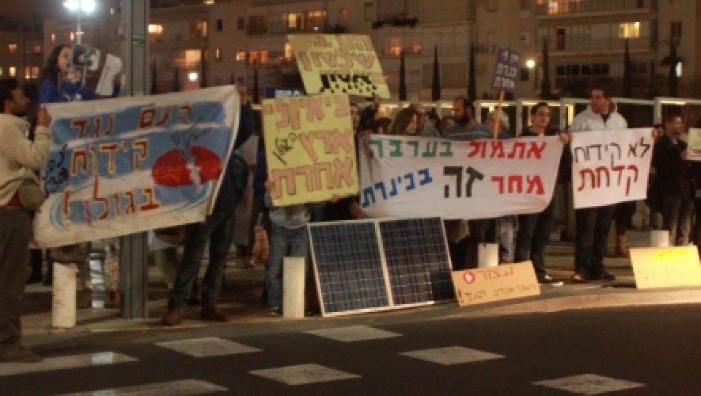 החזית הצפונית מתחממת: תושבי רמת הגולן מפגינים וחברת אפק מגיבה לטענות