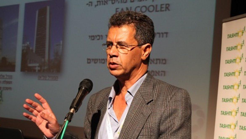 """הכנס להתייעלות מוסדית: עמוס סרי לוי, מנכ""""ל החברה למים מושבים"""