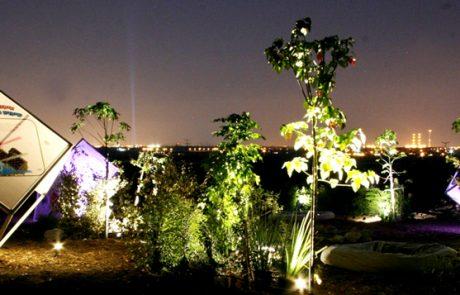 לראשונה בישראל גן סולארי על פי חזונו של בן גוריון