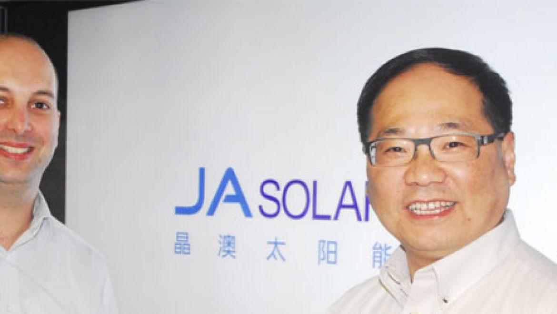 JA סולאר תספק מודולים בהספק של 35 מגה וואט עבור ערבה פאוור