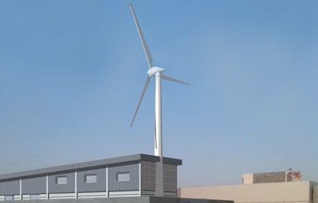 בקרוב: טורבינת רוח באיזור התעשייה באילת