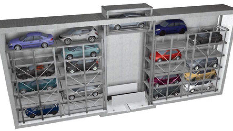 חברת פרומוט השיקה את מתקן החניה האוטומטי הראשון בישראל