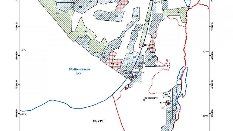 רישיונות חיפוש גז טבעי ונפט במים הכלכליים של ישראל למשך 3 שנים ניתנו לחברת אנרג'יאן היוונית