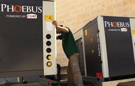 פבוס אנרגיה תשיק מערכת הידרה להתייעלות אנרגטית במלון רמדה בירושלים