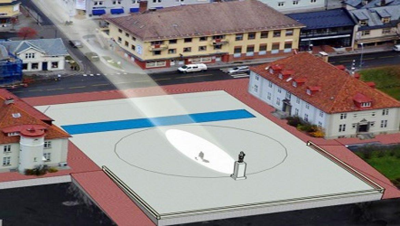 'שמש מלאכותית' בנורווגיה להארת ימי החורף החשוכים
