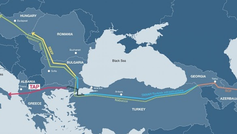 מגעים בין ישראל לאיחוד האירופאי בדבר ייצוא הגז דרך תורכיה ויוון