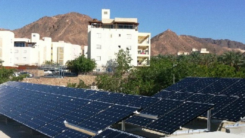 תוך חצי שנה תיוצר כ-20% מתצרוכת החשמל בשעות היום באזור אילת והערבה מאנרגיה סולארית