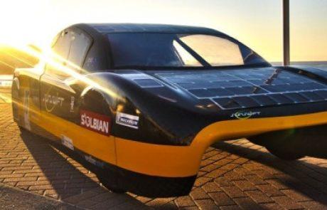 רכב חשמלי ללא נהג למשימות מיוחדות יפעל באמצעות אנרגיה סולארית