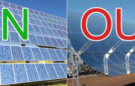מהפכה בעולם הסולארי? הפרוייקט הסולארי הגדול בעולם עובר מתרמו-סולארי לפוטו-וולטאי