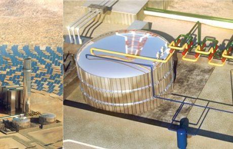 ברייטסורס אנרג'י משיקה תחנת כוח תרמו-סולאריות עם אגירה תרמית