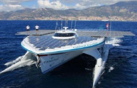 הסירה הסולארית הגדולה בעולם יוצאת למסע טרנס-אטלנטי