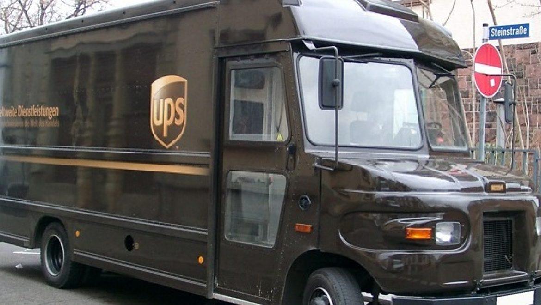 חברת המשלוחים UPS מעבירה את הרכבים שלה לגז טבעי