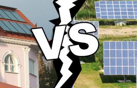 מסתמן:המגמה הבינלאומית: מערכות סולאריות על גגות ולא על קרקעות