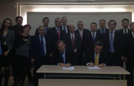 נציגי ישראל וסין חתמו על הסכם בילטרלי להבאת אלפי עובדים לענף הבניין