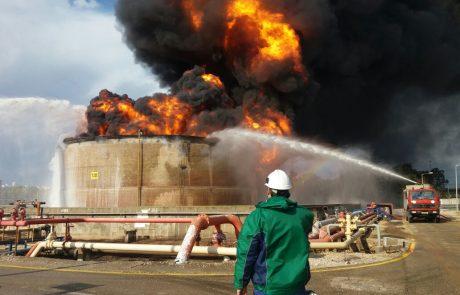 """צוות הבדיקה המיוחד לאירוע הדליקה בבז""""ן מצא חשד לפלילים, המשטרה הירוקה פתחה בחקירה"""