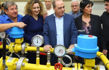 משרד האנרגיה חנך את מעבדות הגז הטבעי