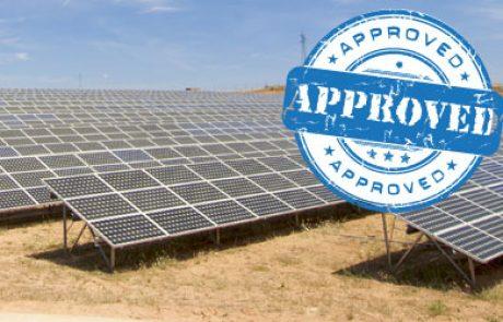 שר התשתיות אישר 81 רשיונות למתקנים סולאריים