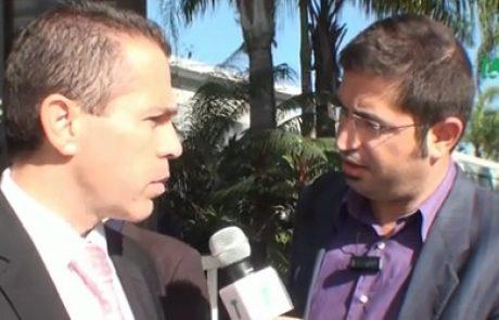 ראיון בלעדי עם השר ארדן בועידת כלכלה ירוקה – צפו בוידאו