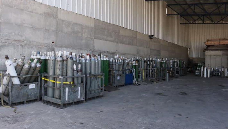 מעל 200 מכלי גז מסוכנים נתפסו במתחם פיראטי בנצרת
