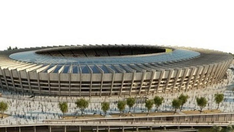 נחנך הגג הסולארי של איצטדיון המונדיאל בברזיל; יספק 1.4 מגה וואט