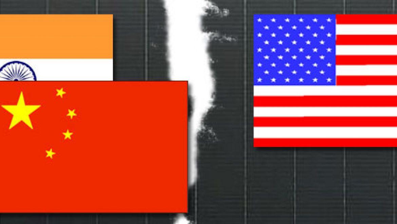 הודו פותחת חזית משלה נגד יצרניות פאנלים אמריקאיות וסיניות