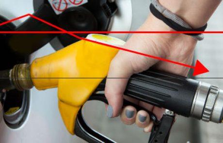 """מחירי הדלק יורד ל-7.58 ש""""ח לליטר"""