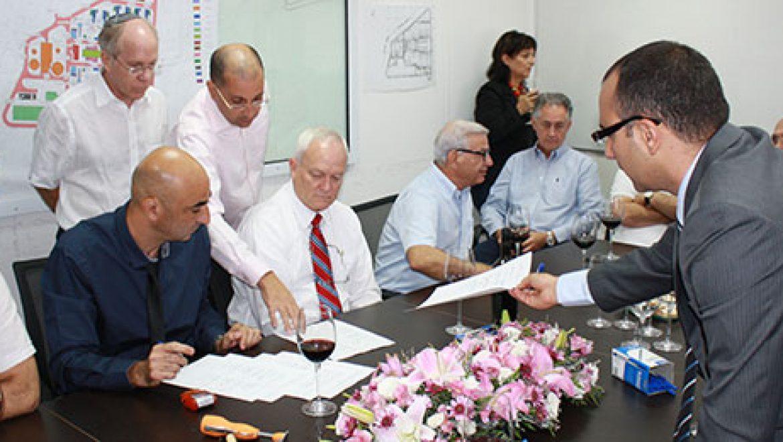 דוראד ושותפות תמר חתמו על הסכם אספקת גז טבעי