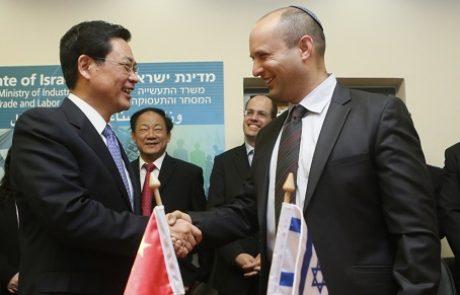 """נחתם הסכם מו""""פ תעשייתי בין ישראל לסין"""