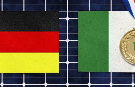 גרמניה מאבדת את מקומה בראש טבלת המתקינות ב-2011 לטובת ארץ המגף
