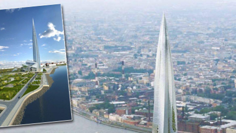 מגדל בבל ברוסיה: גורד השחקים של גזפרום מרגיז את אירופה