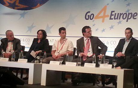 פאנל אתגרים והזדמנויות בכלכלה ירוקה בכנס Go4Europe