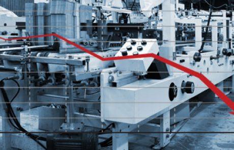 הייצוא התעשייתי הולך וקטן כבר שבעה רבעונים ברציפות