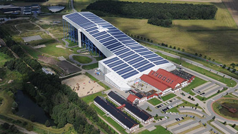 מתקן סולארי עצמאי בגרמניה יספק 3.6 מגהוואט למרכז הסקי האולימפי