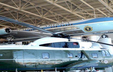 """מערכת של 120 קילו וואט תתוקן על ההאנגר של המסוק הנשיאותי של נשיא ארה""""ב"""